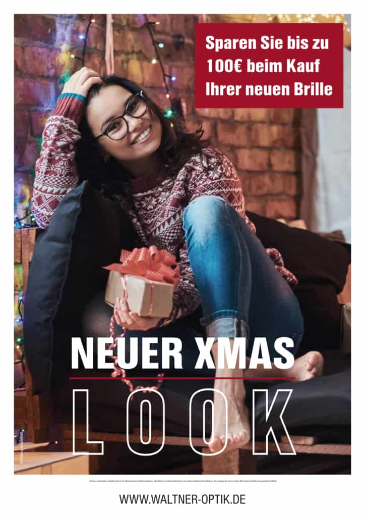 Waltner Optik Neuer Xmas Look